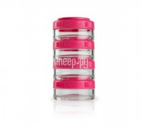 Набор контейнеров BlenderBottle GoStak 40ml Crimson BB-GS40-PINK