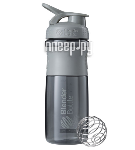 Шейкер BlenderBottle SportMixer 828ml Pebble Grey BB-SM28-PGRE