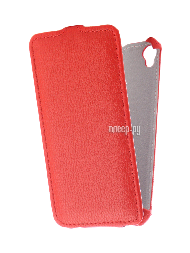 Аксессуар Чехол ASUS ZenFone Live ZB501KL Zibelino Classico Red ZCL-ASU-ZB501KL-RED
