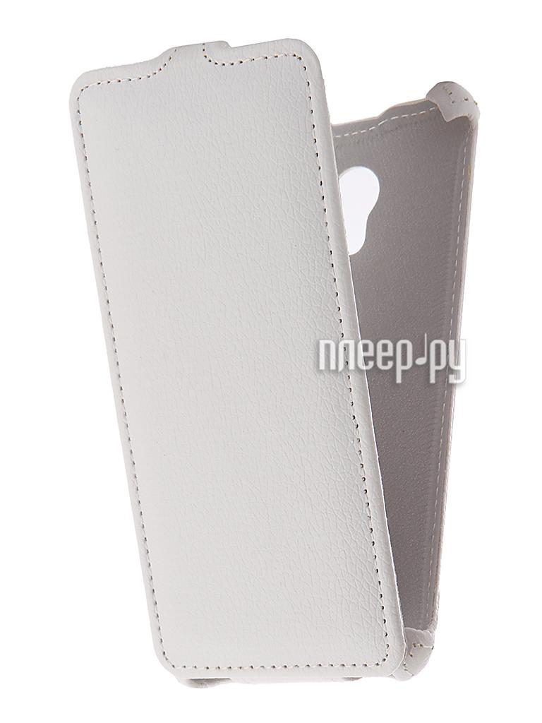 Аксессуар Чехол Meizu M5S Zibelino Classico White ZCL-MZ-M5S-WHT