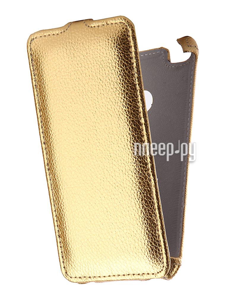 Аксессуар Чехол Huawei Honor 8 Lite Zibelino Classico Gold ZCL-HUA-8LIT-GLD