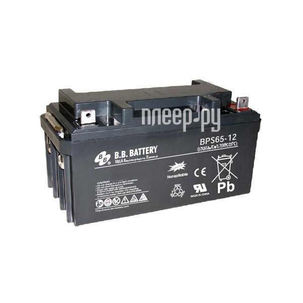 Аккумулятор для ИБП B.B.Battery BPS 65-12 за 11719 рублей