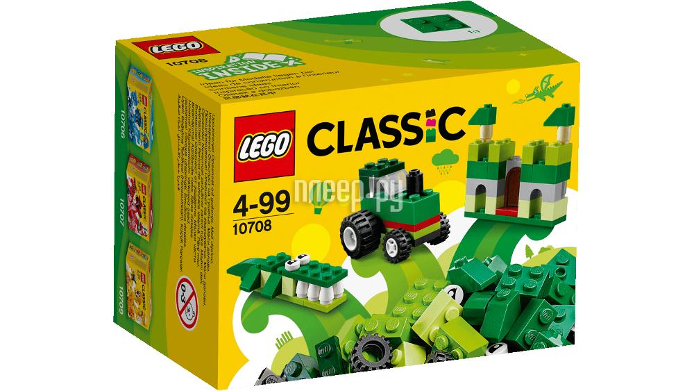 Конструктор Lego Classic Green 10708