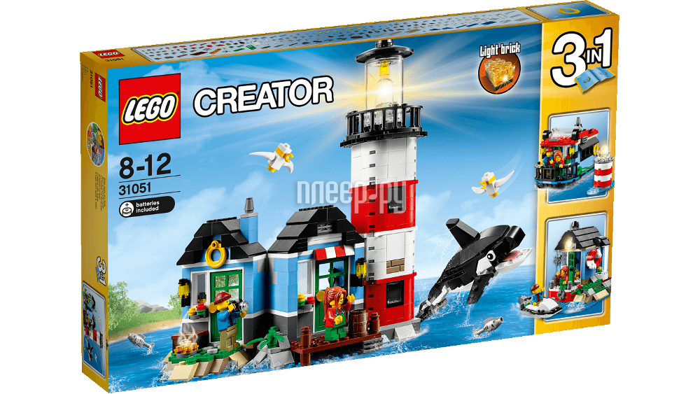 Конструктор Lego Creator Маяк 31051