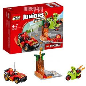 Купить Конструктор Lego Juniors Схватка со змеями 10722