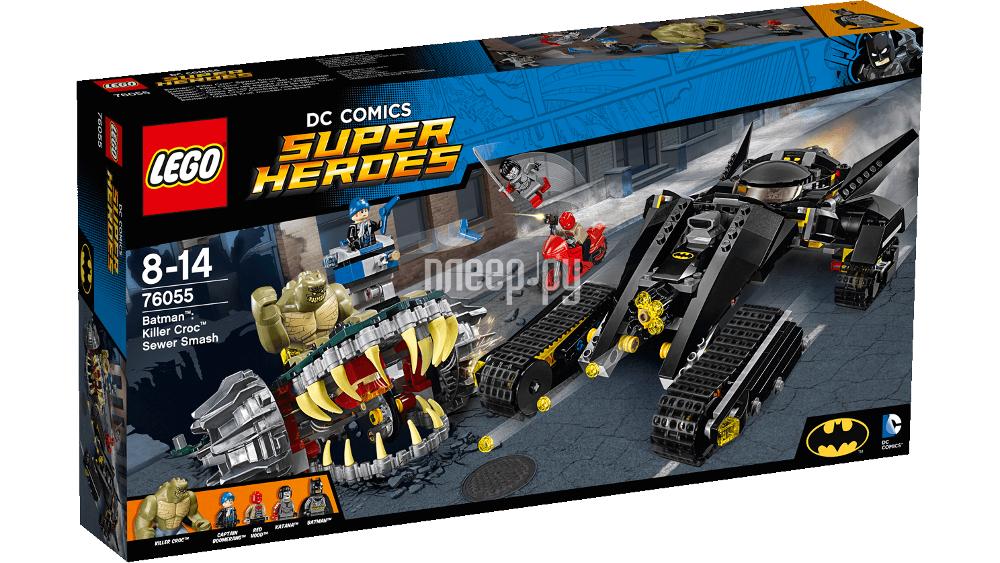Конструктор Lego Super Heroes Бэтмен Убийца Крок 76055