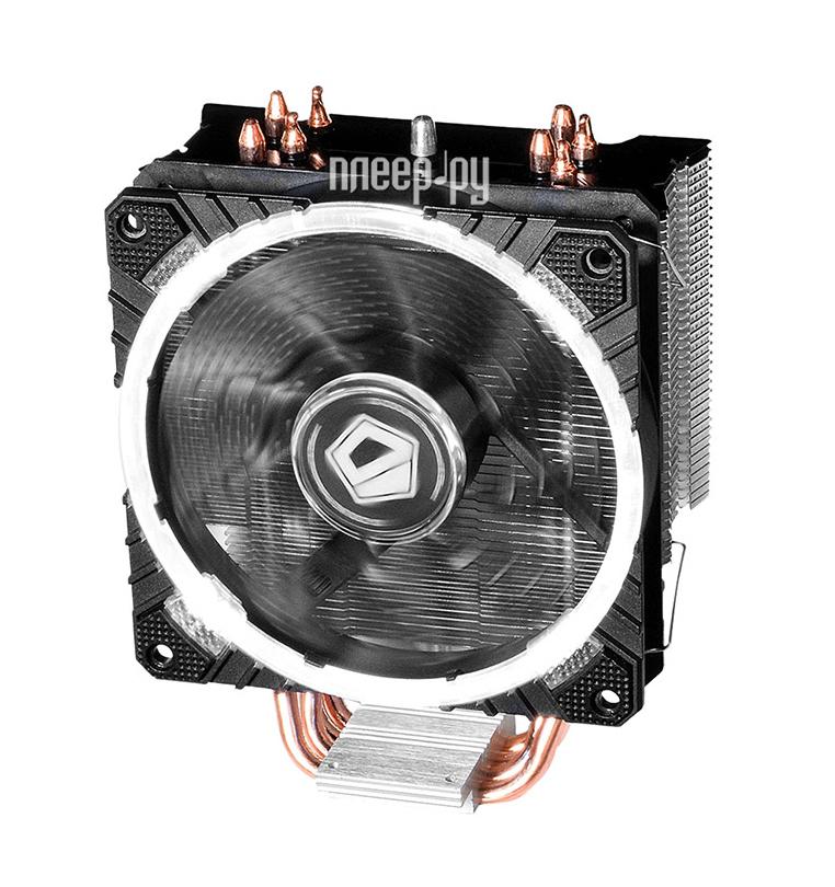 Кулер ID-Cooling SE-214C LED White (Intel LGA2011/1366/1151/1150/1155/1156/AMD FM2+/FM2/FM1/AM4/AM3+/AM3/AM2+/AM2)
