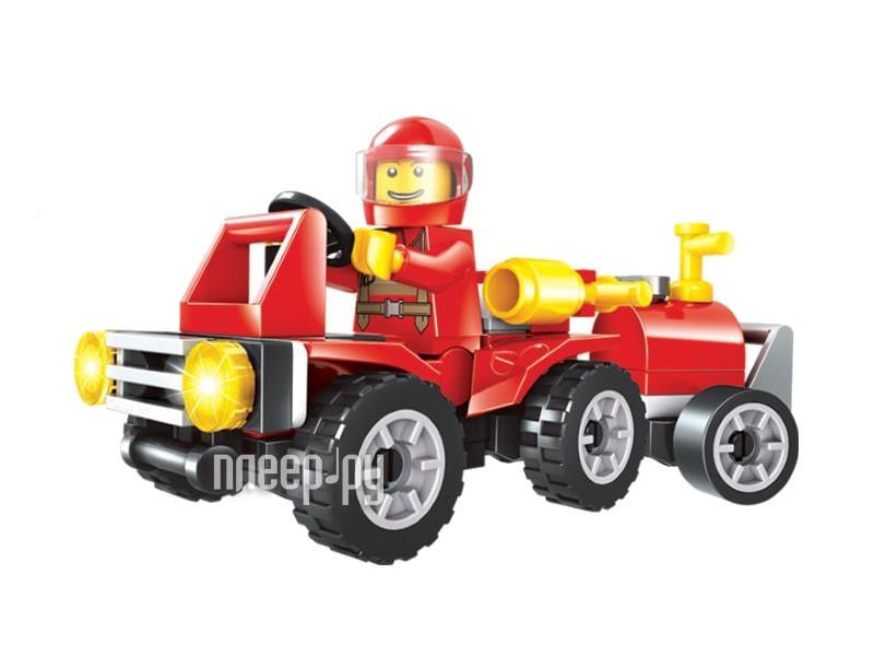 Конструктор UNICON Пожарная машина 48 деталей 1448677