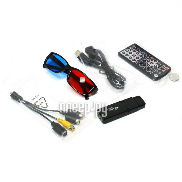 Тюнер Gotview USB 2.0 Master + 3D очки  Pleer.ru  1785.000