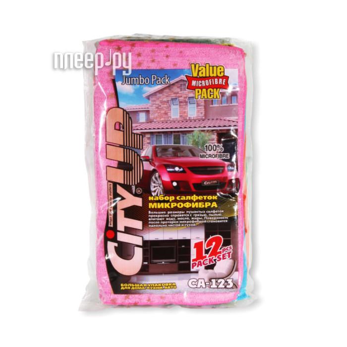 CityUp Салфетки из микрофибры 12шт CA-123