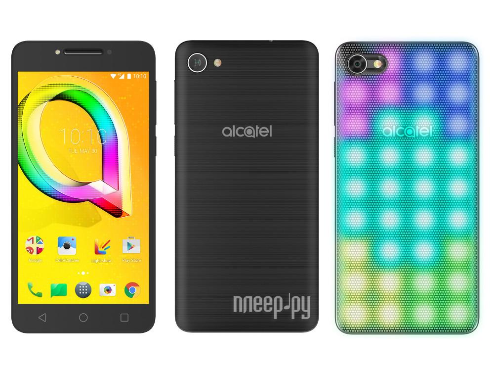 Сотовый телефон Alcatel 5085D A5 LED Metallic Black купить