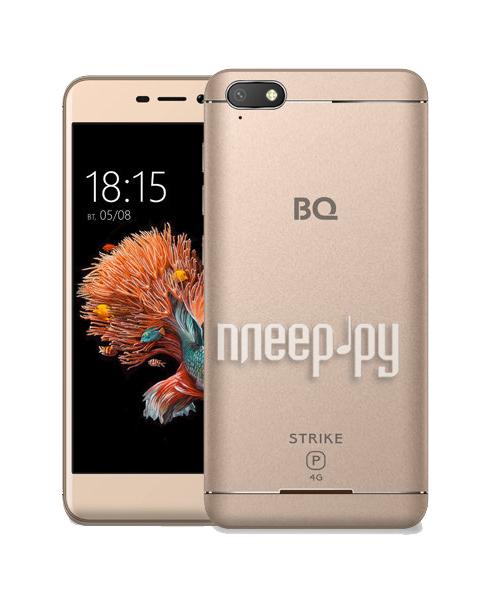 Сотовый телефон BQ 5037 Strike Power 4G Gold купить