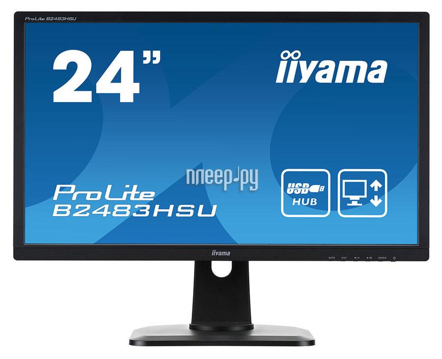 Монитор iiyama ProLite B2483HSU-B1DP