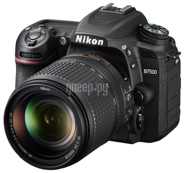 Фотоаппарат Nikon D7500 Kit 18-105 mm f / 3.5-5.6G AF-S ED DX VR
