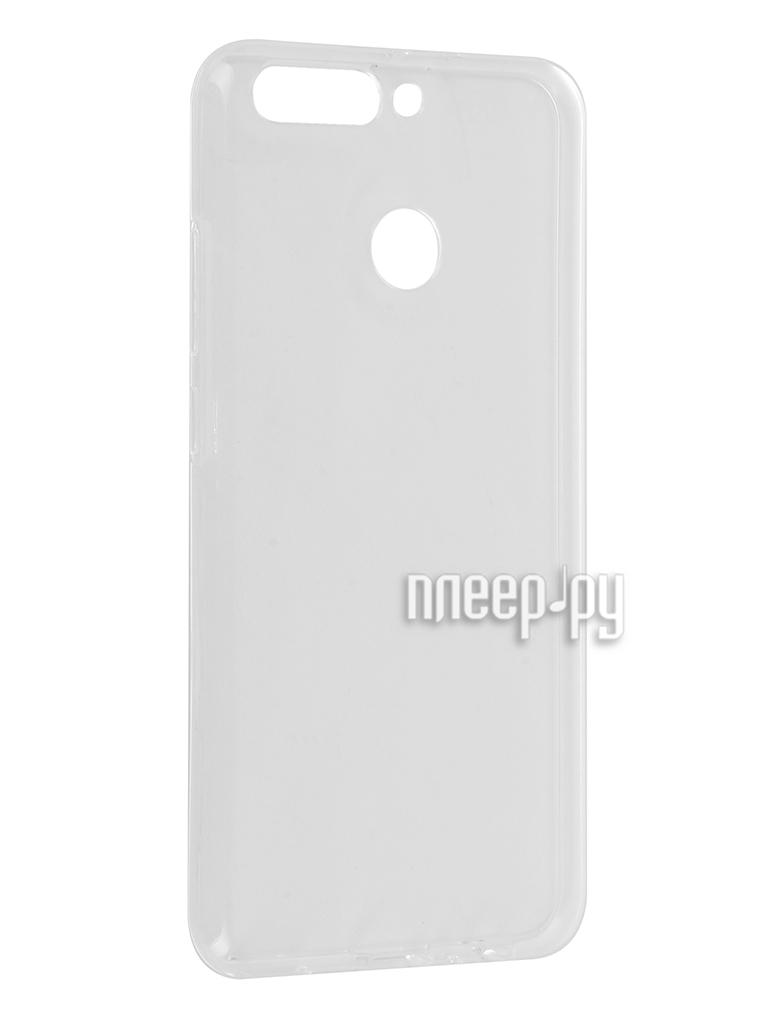 Аксессуар Чехол Huawei Honor 8 Pro Svekla Silicone Transparent SV-HWH8PRO-WH