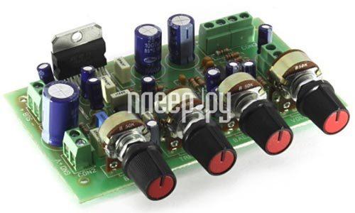 Конструктор Модуль Радио КИТ RS162M - стереофонический УНЧ TDA7377 2х15 Вт