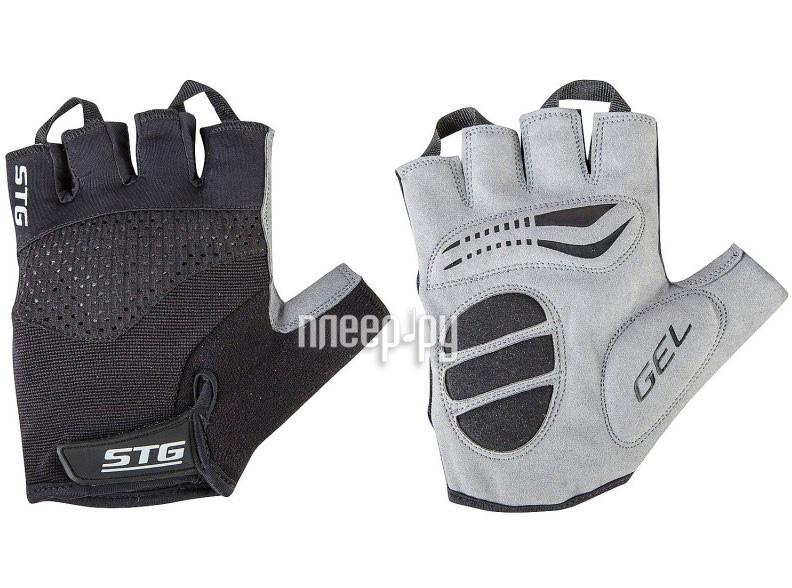 Велоперчатки STG AI-03-202 M Black-Grey Х81534-М