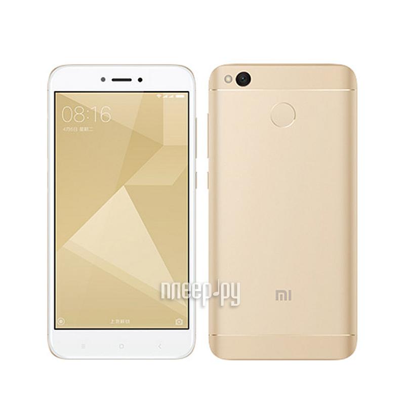 Сотовый телефон Xiaomi Redmi 4X 16Gb Gold