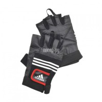 Adidas ADGB-12124 размер S/M Leather Lifting Glove