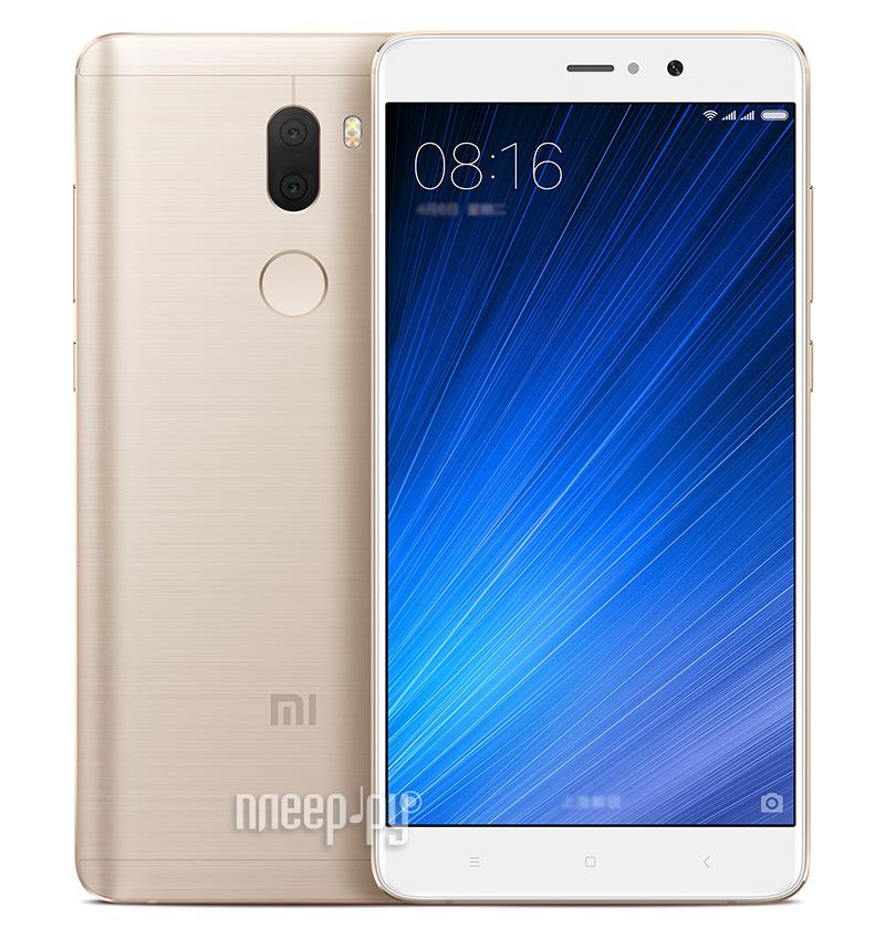 Сотовый телефон Xiaomi Mi5S Plus 64Gb Gold