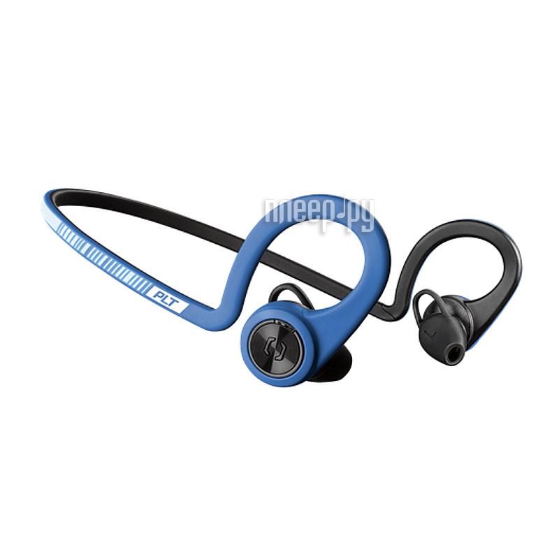 Гарнитура Plantronics BackBeat Fit Blue-Black 206001-05