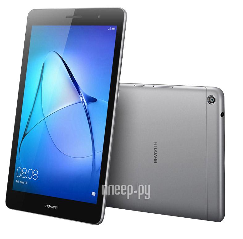 Планшет Huawei MediaPad T3 8 LTE 16Gb KOB-L09 Grey 53018493 (Qualcomm Snapdragon MSM8917 1.4 GHz / 2048Mb / 16Gb / LTE / 3G / Wi-Fi / Cam / 8.0 / 1280x800 / Android)