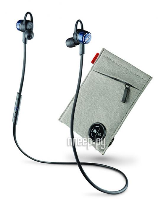 Гарнитура Plantronics BackBeat Go 3 with Charging Case Black-Blue 204352-05