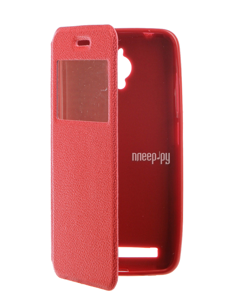 Аксессуар Чехол ASUS ZenFone Go ZC500TG Gecko Book Red G-BOOK-AS-ZC500TG-RED