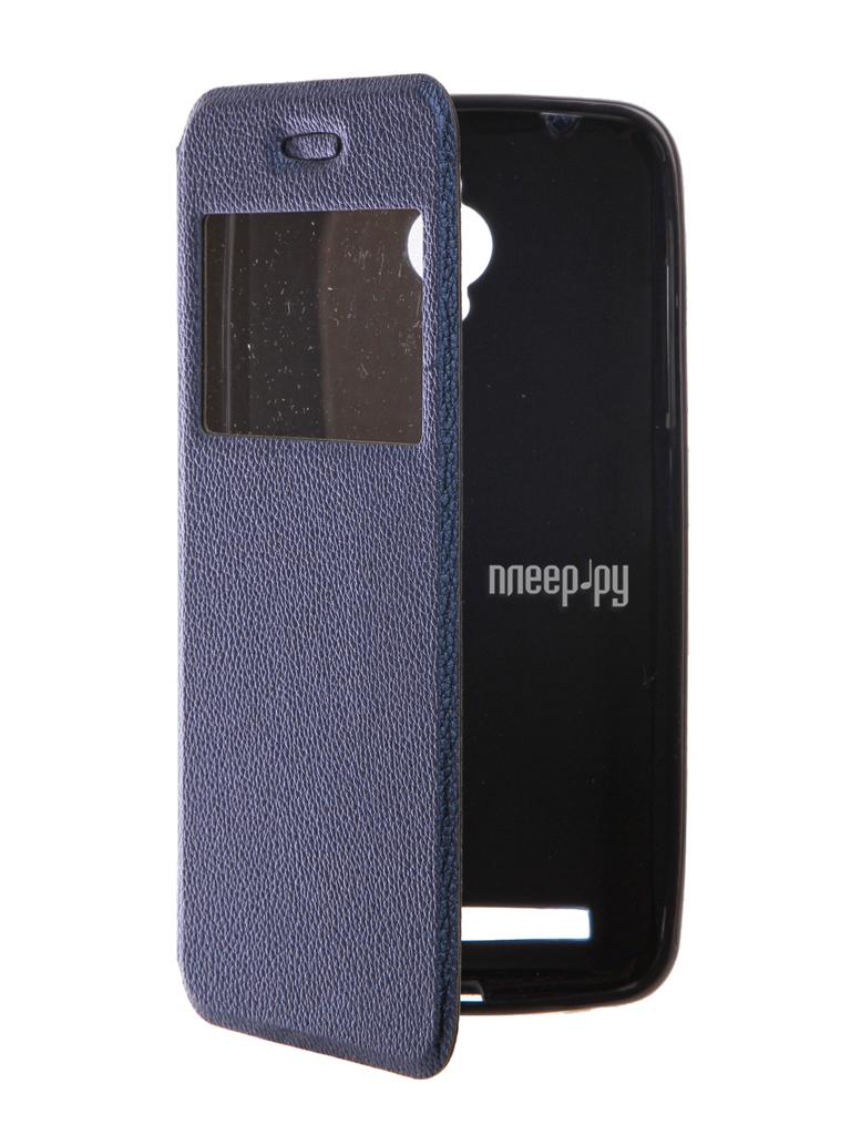 Аксессуар Чехол ASUS ZenFone Go ZB500KG Gecko Book Blue G-BOOK-AS-ZB500KG-DBLU