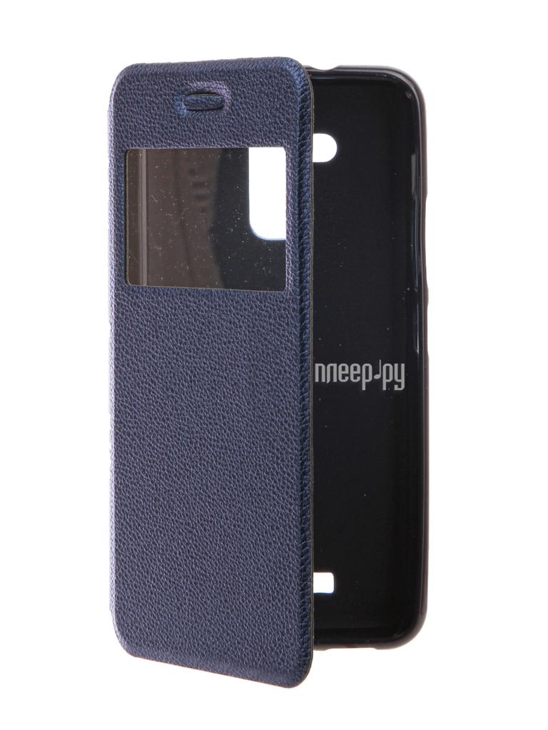 Аксессуар Чехол ASUS ZenFone 3 Max ZC520TL Gecko Book Blue G-BOOK-AS-ZC520TL-DBLU