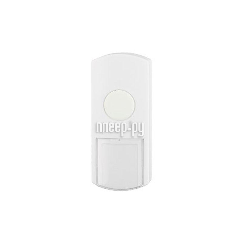Звонок дверной Эра D1 White - кнопка для звонка купить