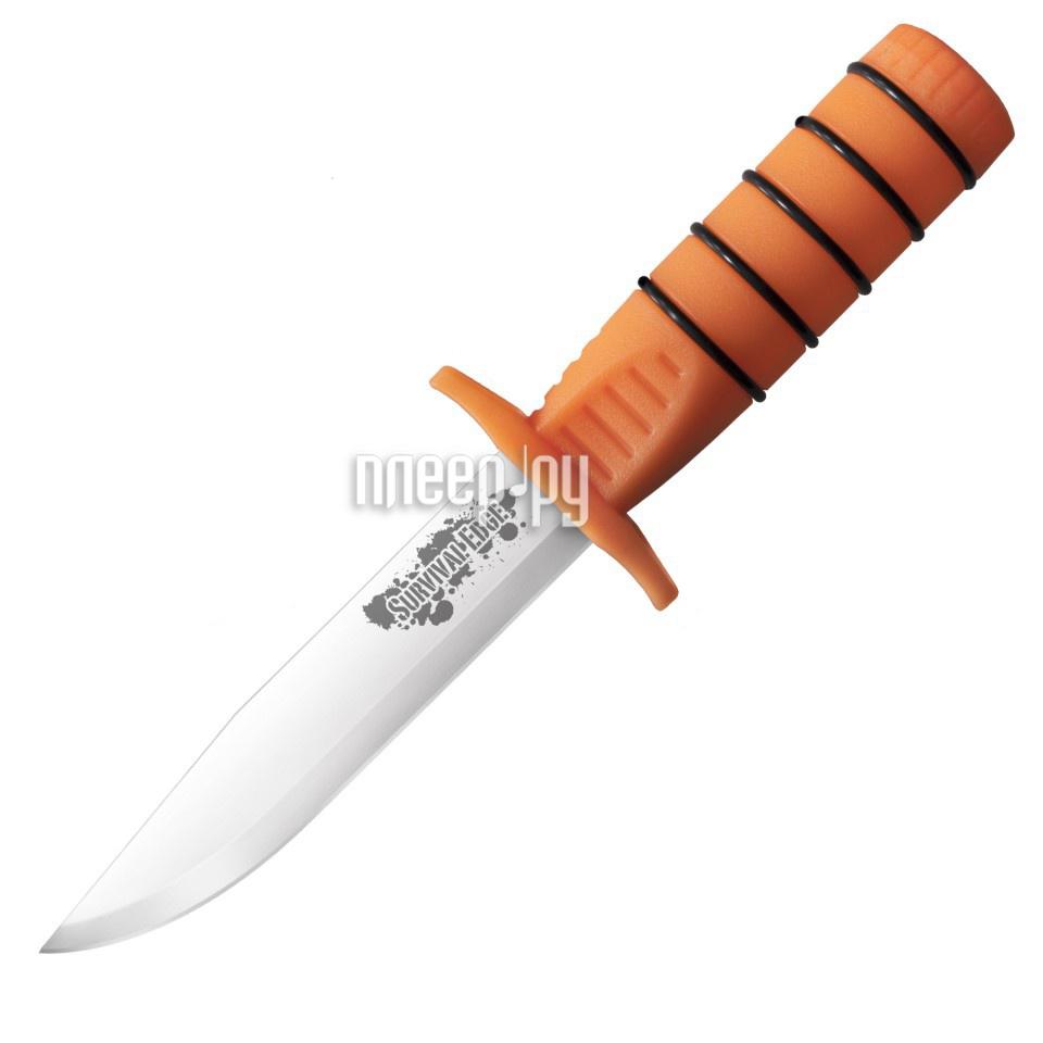Нож Cold Steel Survival Edge Orange CS / 80PHZ - длина лезвия 126мм