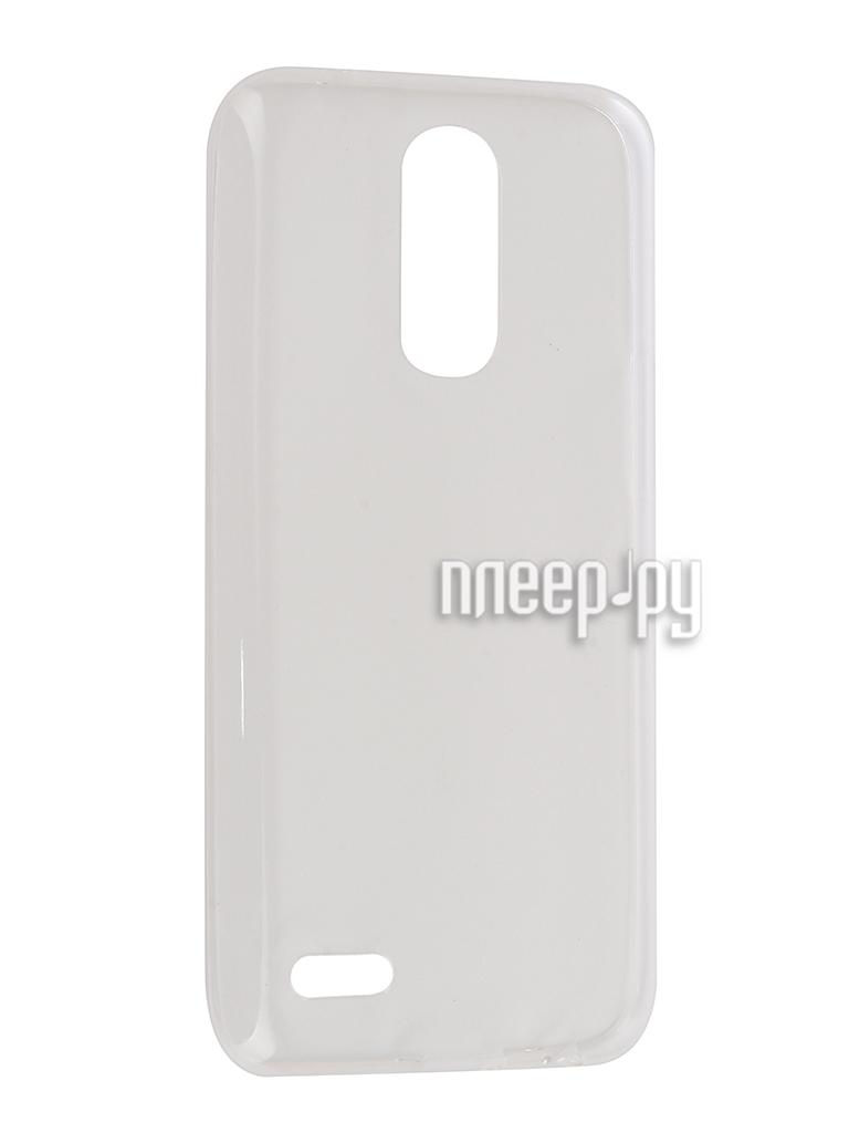 Чехол LG K10 (2017) Gecko Transparent-Glossy White S-G-LGK10-2017-WH