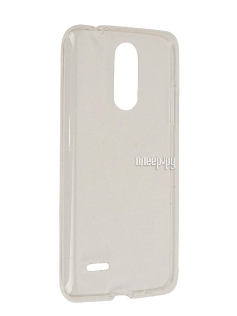 Аксессуар Чехол LG K7 (2017) Gecko Transparent-Glossy White S-G-LGK7-2017-WH