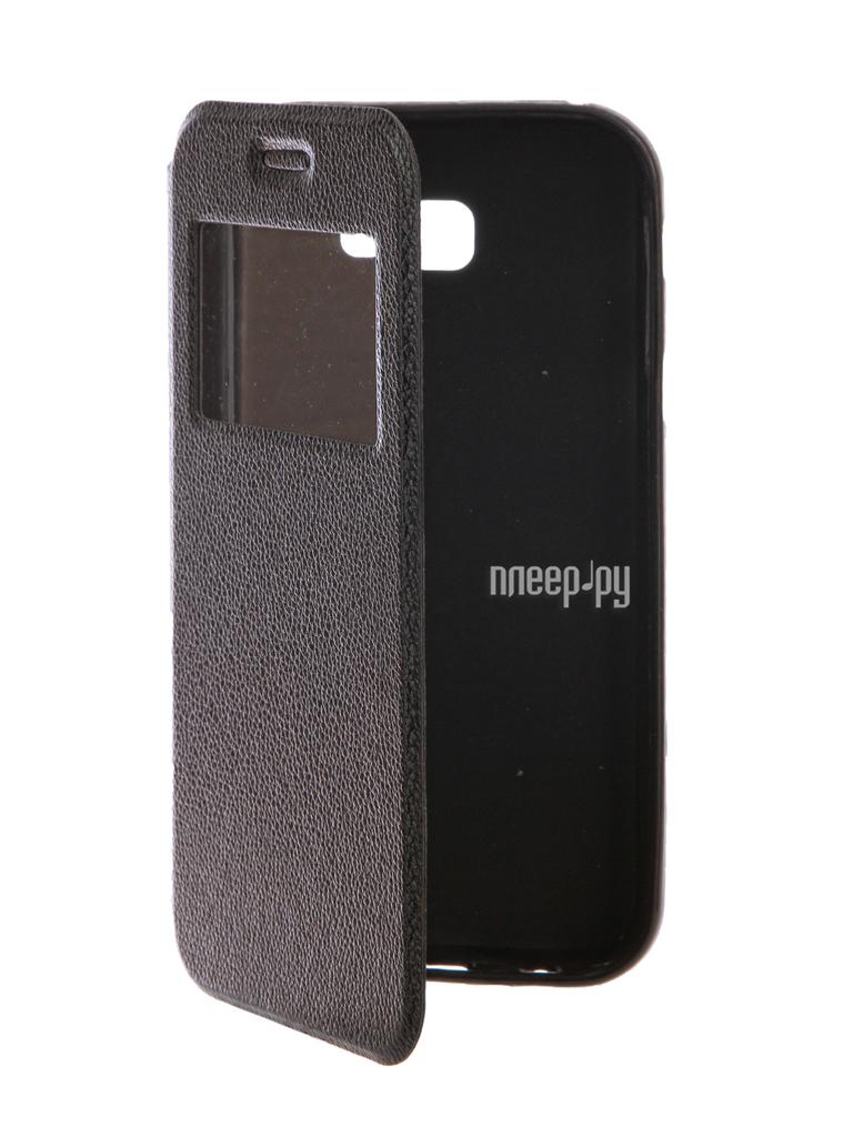 Аксессуар Чехол Samsung Galaxy A7 2017 A720F Gecko Book Black G-BOOK-SAMA7-2017-BL