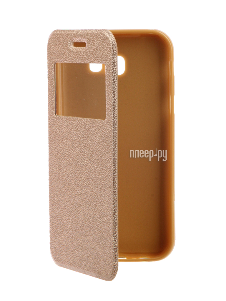 Аксессуар Чехол Samsung Galaxy A7 2017 A720F Gecko Book Gold G-BOOK-SAMA7-2017-GOLD