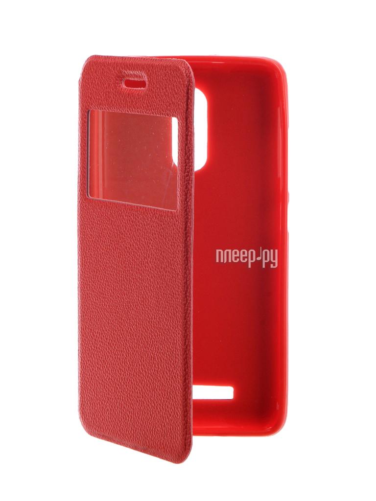 Аксессуар Чехол Xiaomi Redmi Note 3 Gecko Book Red G-BOOK-XIAM-N3-RED