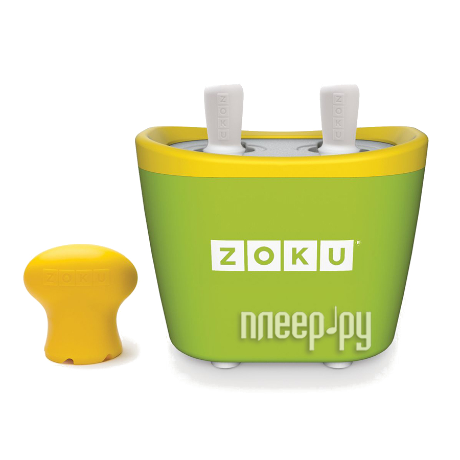 Мороженица Zoku Duo Quick Pop Maker ZK107-GN