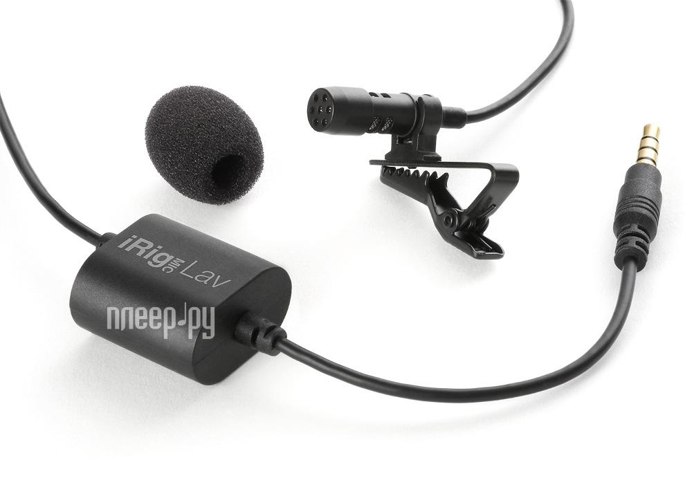 Микрофон IK Multimedia iRig Mic Lav