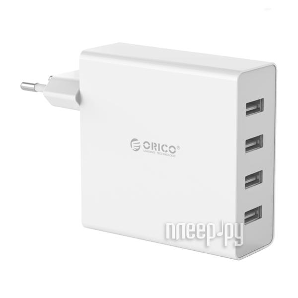 Зарядное устройство Orico DCW-4U White