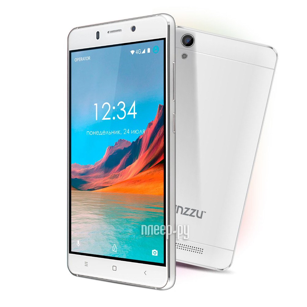 Сотовый телефон Ginzzu S5220 White