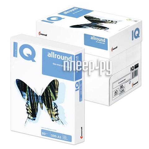 Бумага IQ Allround А3 80g/m2 500л В+