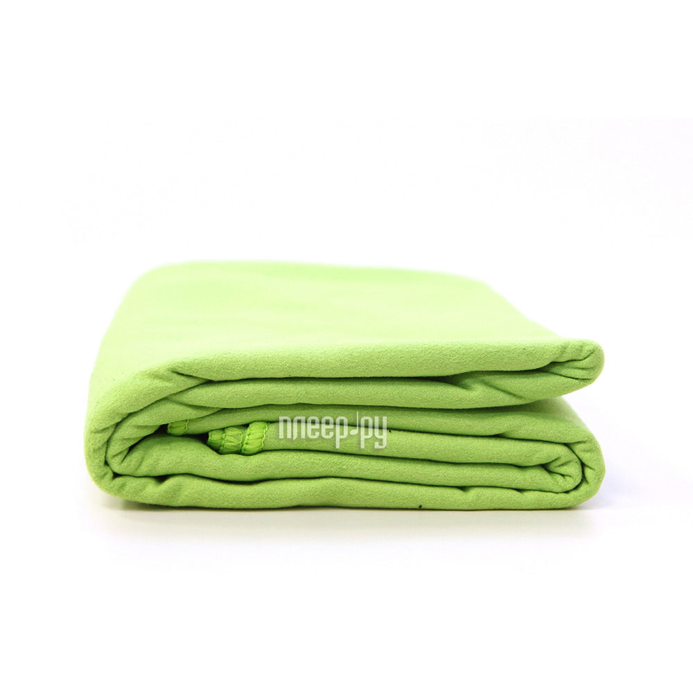 Полотенце из микрофибры Camping World Dryfast Towel L Light Green 138285
