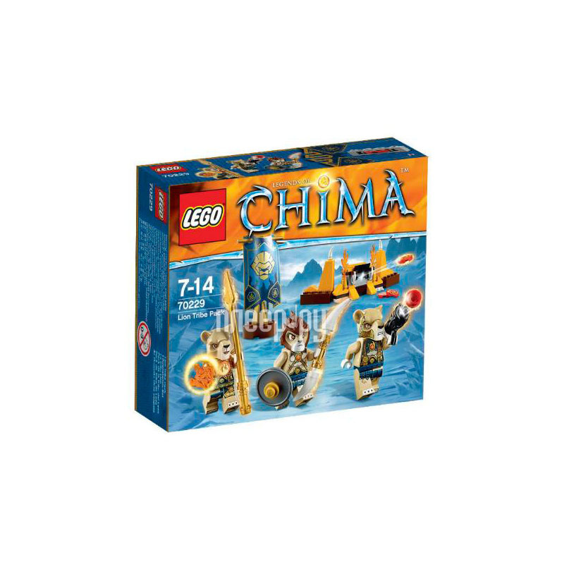 Конструктор Lego Legends of Chima Лагерь Клана Львов 70229