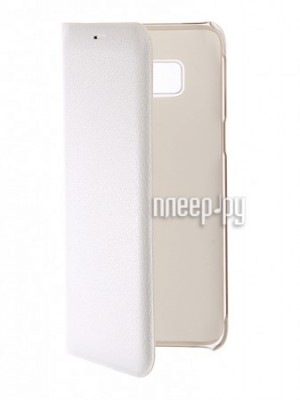 Купить Аксессуар Чехол Samsung Galaxy S8 BROSCO White SS-S8-BOOK-WHITE