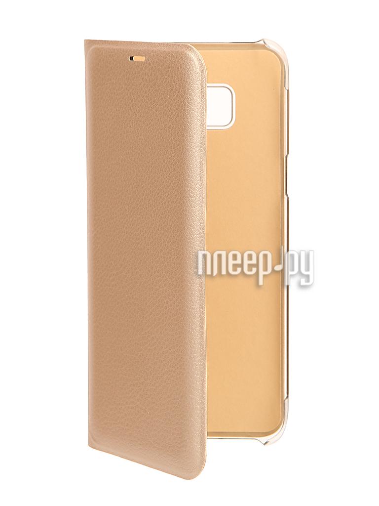 Аксессуар Чехол Samsung Galaxy S8 Plus BROSCO Gold SS-S8P-BOOK-GOLD