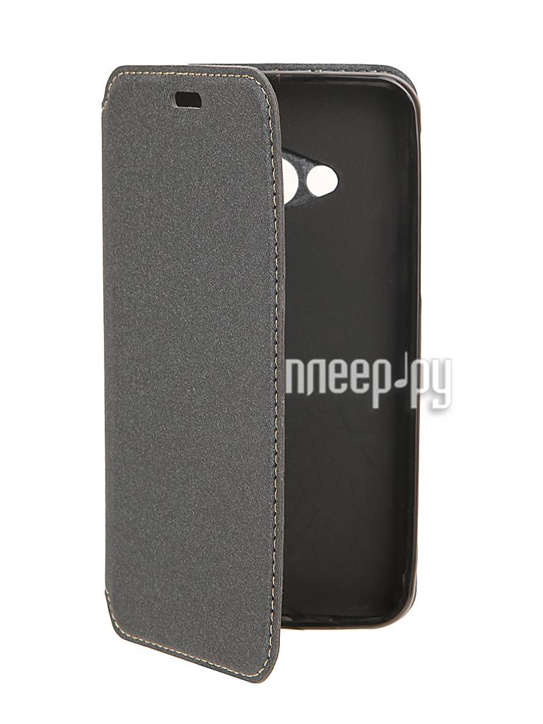 Аксессуар Чехол HTC U Play BROSCO Black HTC-UP-BOOK-BLACK