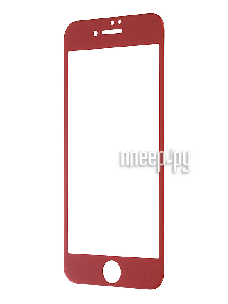 Аксессуар Защитное стекло Svekla 3D для APPLE iPhone 7 Plus Red frame ZS-SVAP7PLUS-3DRED