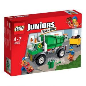 Купить Конструктор Lego Juniors Мусоровоз 10680