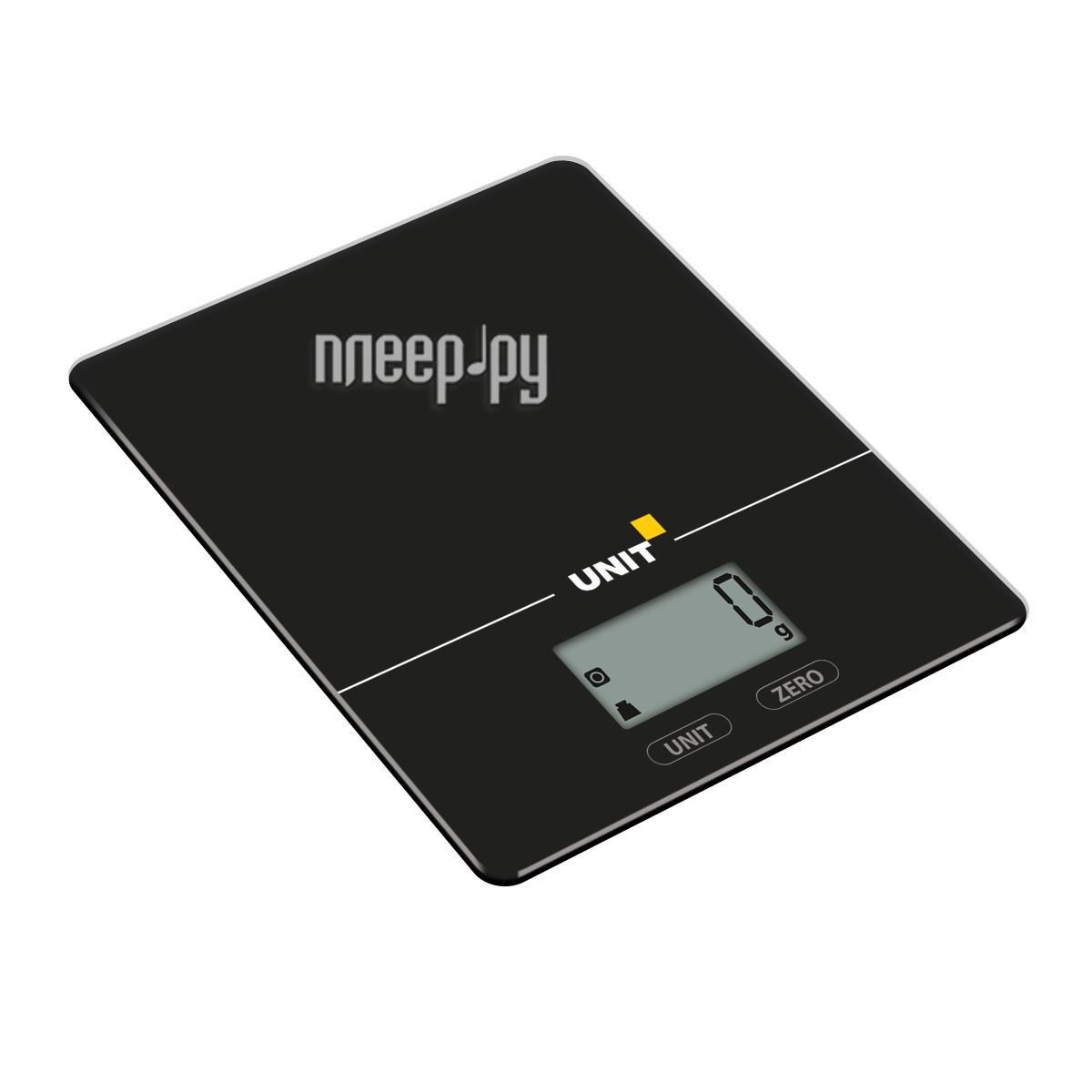 Весы UNIT UBS-2154 Black